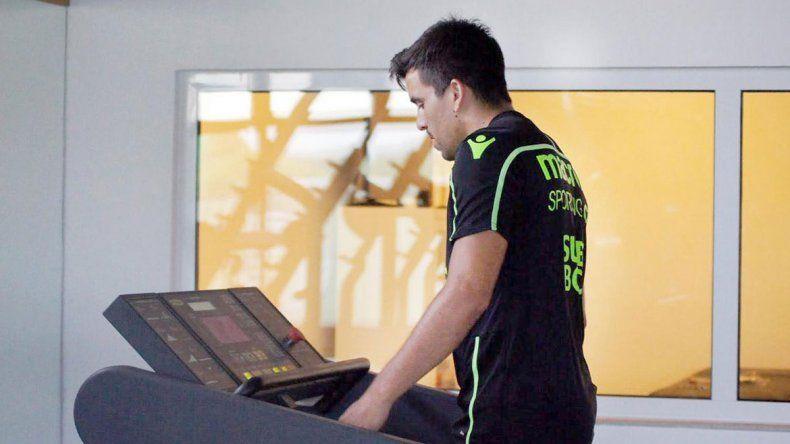 El Huevo volvió a las instalaciones del León de Portugal.