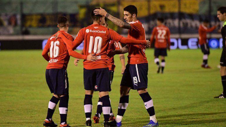 Independiente logró postergar su duelo ante Brown de Adrogué.