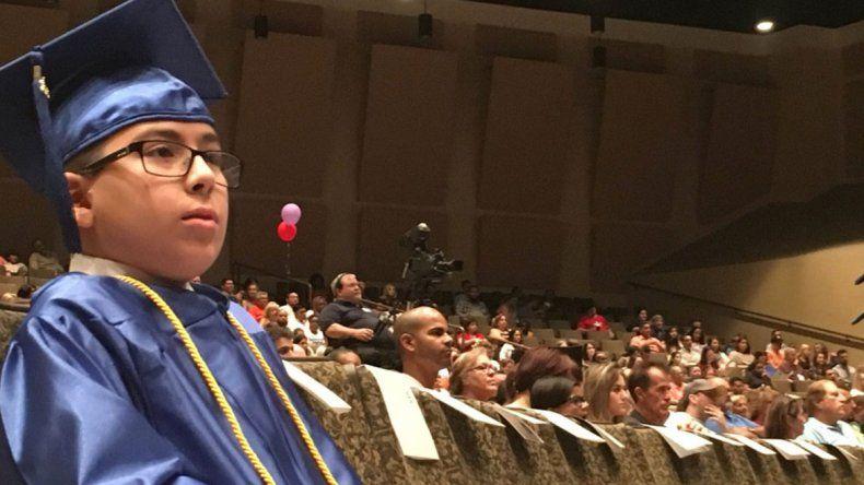 Con tan sólo 11 años, se graduó de la universidad y va por más