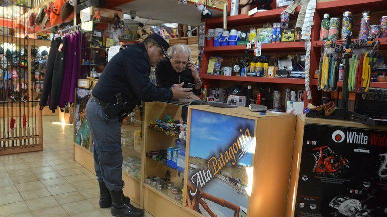 Rompevidrieras: robaron en un comercio en el Bajo