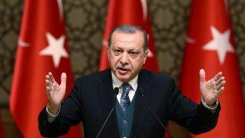 Recep Tayyip Erdogan critó la cuestionada ley estado nación judía.