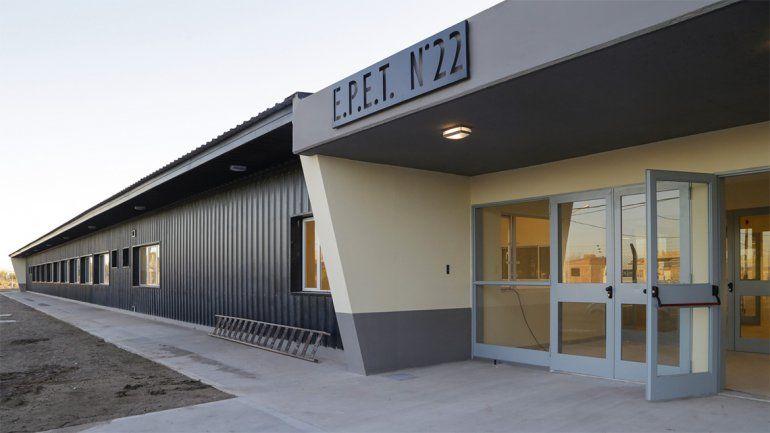 El colegio tiene 4500 metros cuadrados y se inaugurará en 2019.