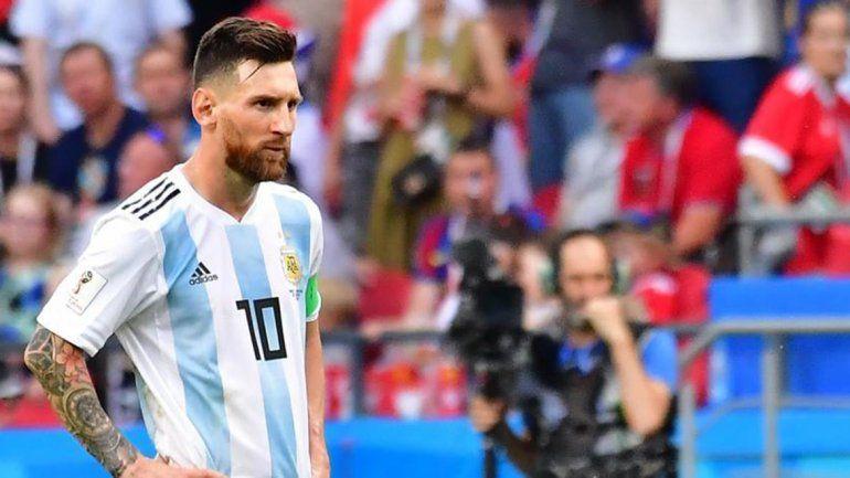 Messi: Mi hijo me preguntó por qué no me quieren en Argentina