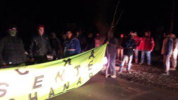 Desocupados levantan el corte de Ruta 7 en El Chañar