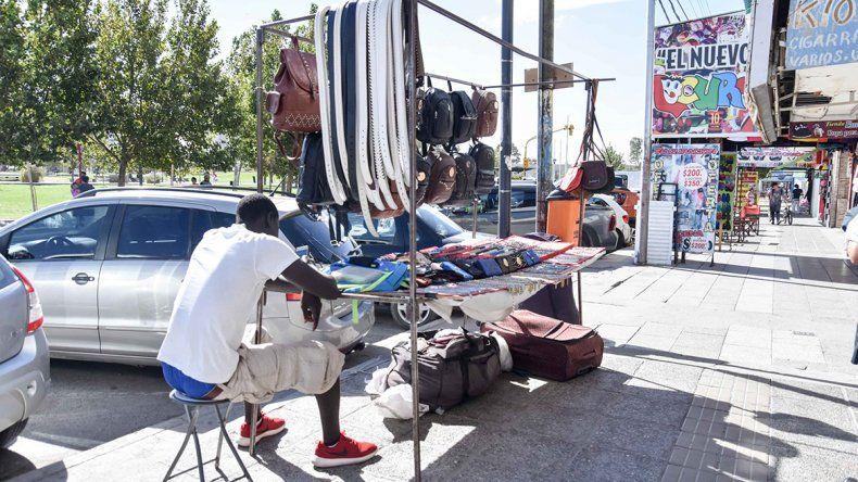 Hay más puestos de venta callejera en la ciudad