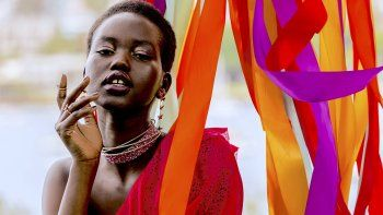 Adut Akech nació en Sudán del Sur