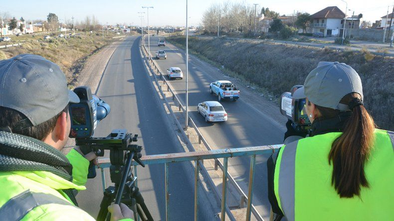 Ruta 7: se podrá circular a 60 km/h sin recibir multa
