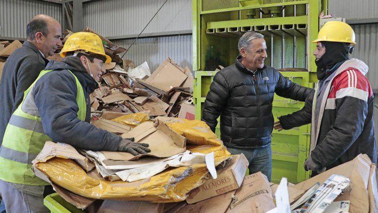 Reciclaje: el CAN trabaja con nuevos operarios