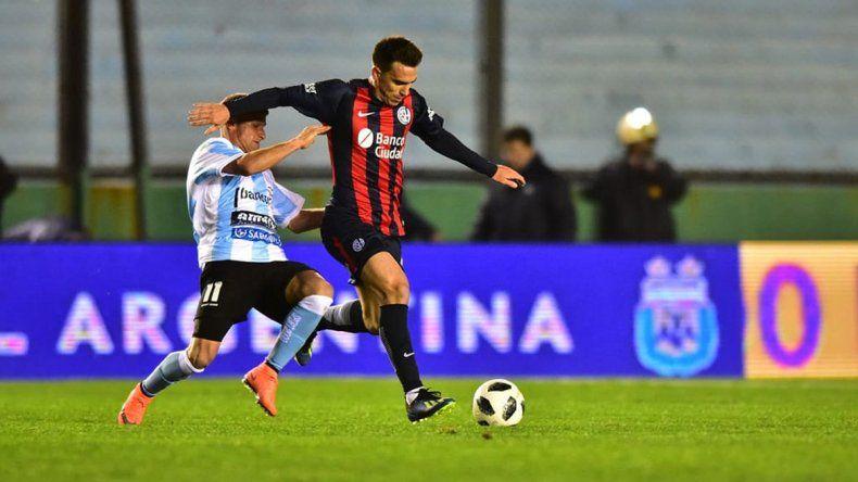 Pablo Mouche ya debutó por Copa Argentina con la camiseta del Cuervo.