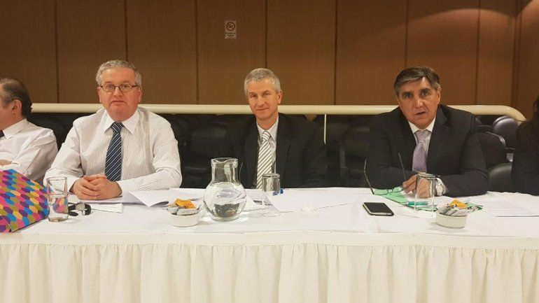 Los jueces de la Cámara Laboral Raúl Santos