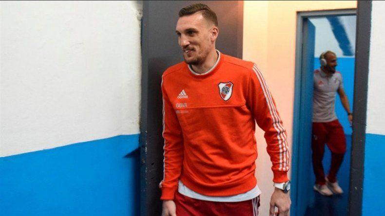 El arquero de River viene de jugar el Mundial de Rusia.