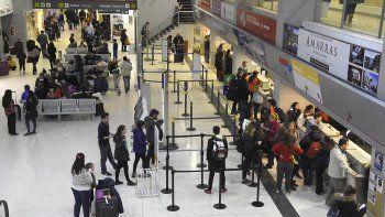 mas de 100 mil pasajeros pasaron por el aeropuerto en julio