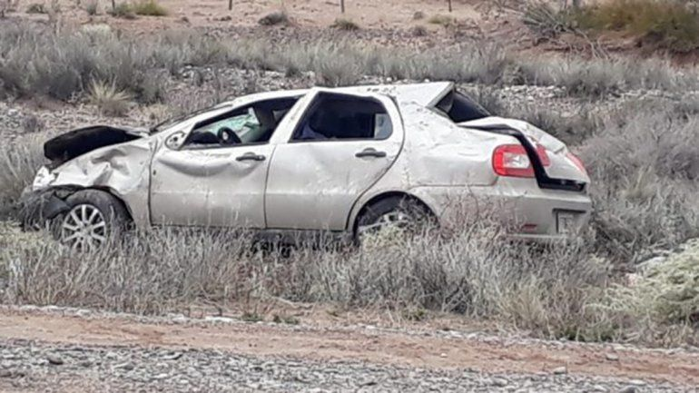 Una nena de once años murió en un accidente en la Ruta 151