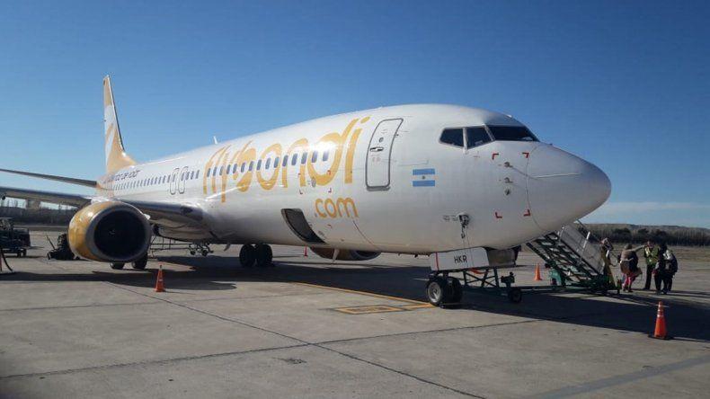 Flybondi ofrece pasajes por menos de 200 pesos