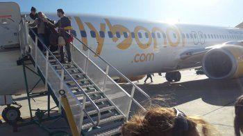 Llegó Flybondi: estuvieron varados una semana
