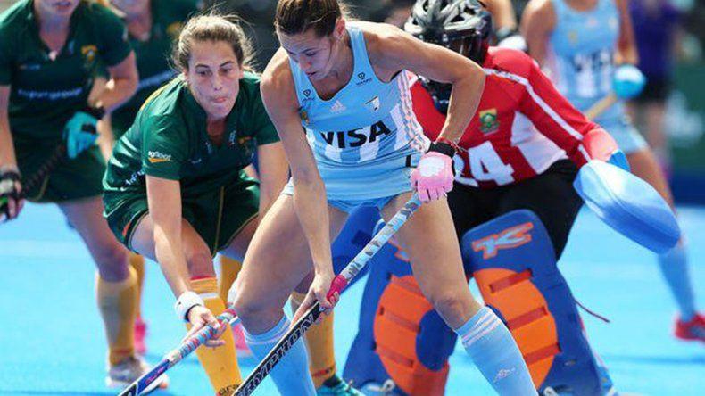 Las Leonas empataron con Sudáfrica y clasificaron a octavos del Mundial