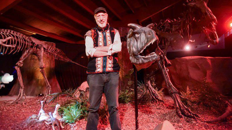 El artista que logró darles vida a los dinosaurios