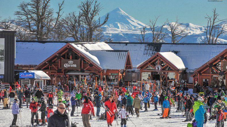 Chapelco recibió en sus pistas a 5700 esquiadores