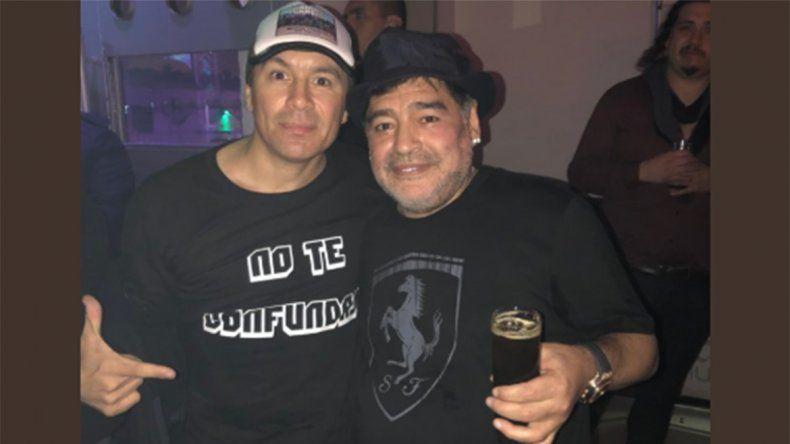 ATR: Maradona fue ovacionado en el show de Damas Gratis