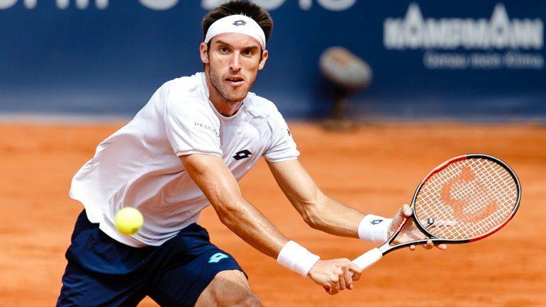 Leo Mayer cayó ante Basilashvili en la final del ATP de Hamburgo