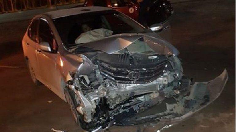 Ruta 22: conducía borracha, chocó y se salvó de milagro