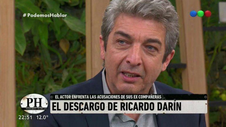 Ricardo Darín fue el gran animador del envío de Kusnetzoff.