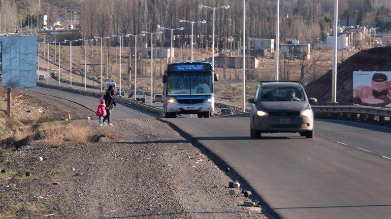 El colectivo afina el lápiz para viajar a 60 km en la ruta