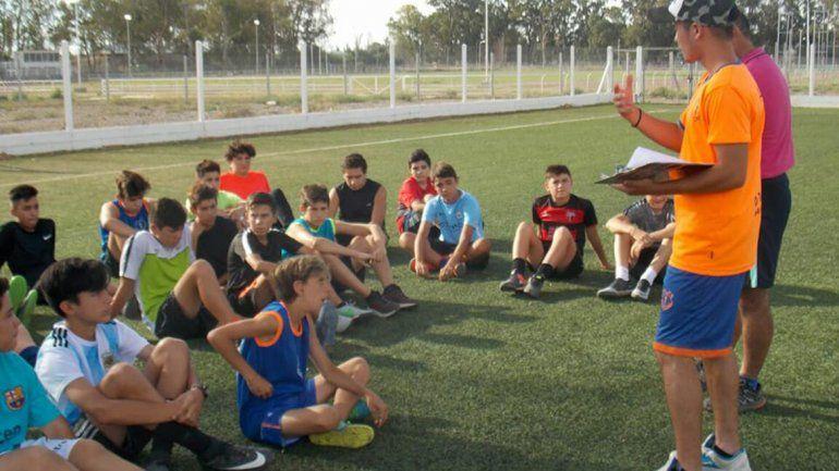 Inferiores. El Naranja, una máquina de formar futbolistas. El club se encuentra en pleno crecimiento.