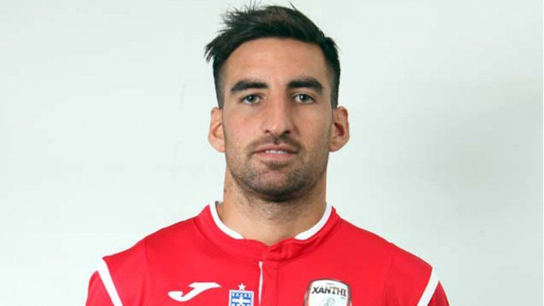 <div>En Europa. Matías Castro, delantero neuquino en Xanthi FC de Grecia. </div><div><br></div>