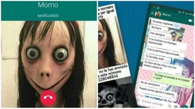 Denuncian que el viral juego del momo amenazó a una adolescente