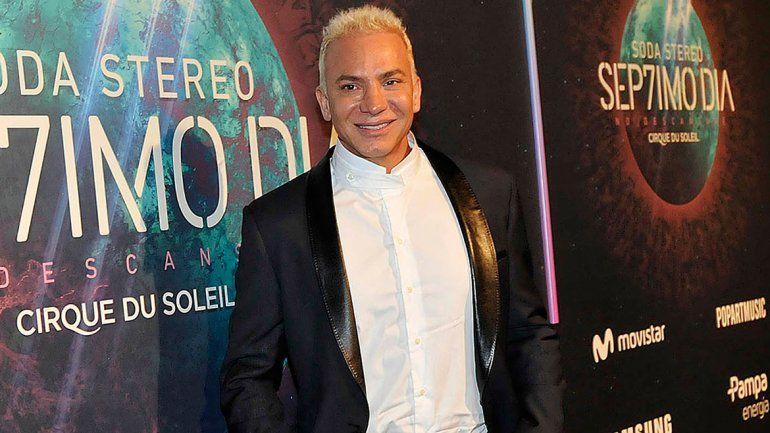 Mendoza estará acompañado de la contorsionista Belén Pouchán.