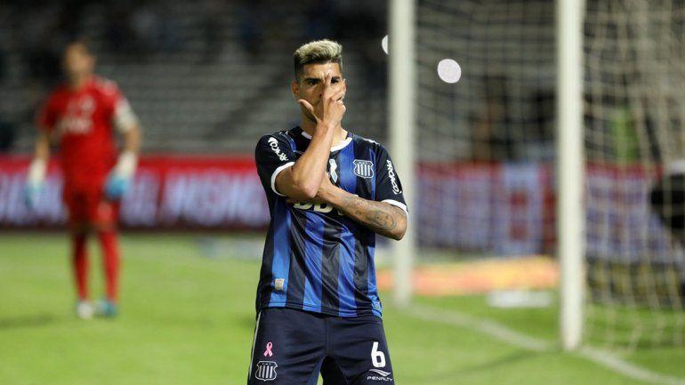 Lucas Olaza llegó a Boca a préstamo por un año con una opción de compra por 5 millones de euros.