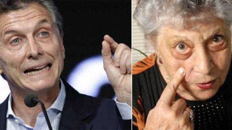 Como Lita de Lázzari, Macri pidió caminar para buscar precios