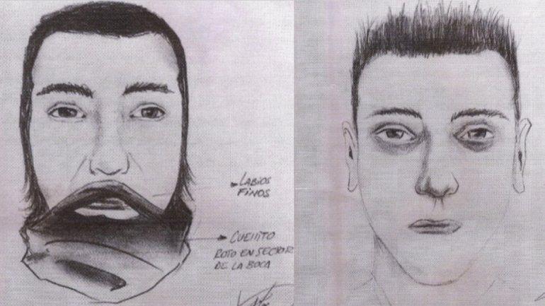 Así es el identikit de los dos delincuentes que atacaron a Fernando Gatti.