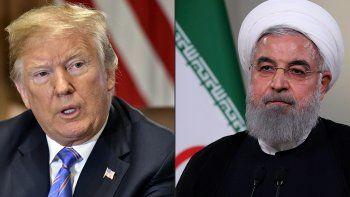 Trump dijo estar listo para reunirse con el presidente iraní, Hassan Rohani.