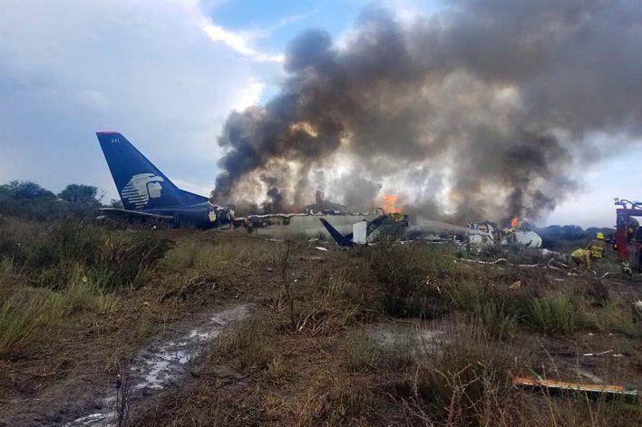 Se desplomó un avión en México: no hubo víctimas fatales