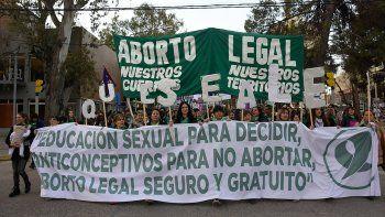 {alttext(,A una semana del #8A se renovó el reclamo por el aborto legal)}
