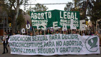Renovaron pedido de aborto legal en calles de Neuquén