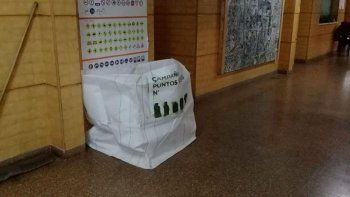 Las escuelas se suman a la recolección de residuos secos