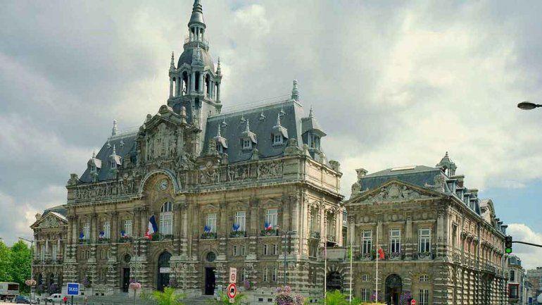 El ayuntamiento de Roubaix