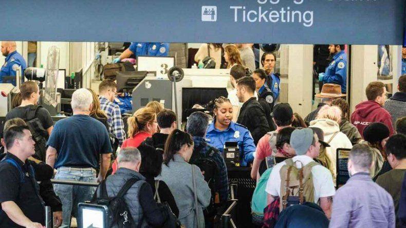 La Administración de Seguridad del Transporte vigila todos los vuelos.