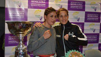 Soledad Matthysse y Anahí Salles animarán la pelea de fondo.
