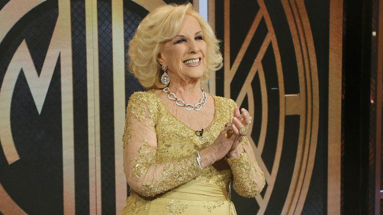 Mirtha tuvo aguante