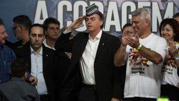 Hamilton Mourao ha reivindicado a la dictadura militar brasileña.