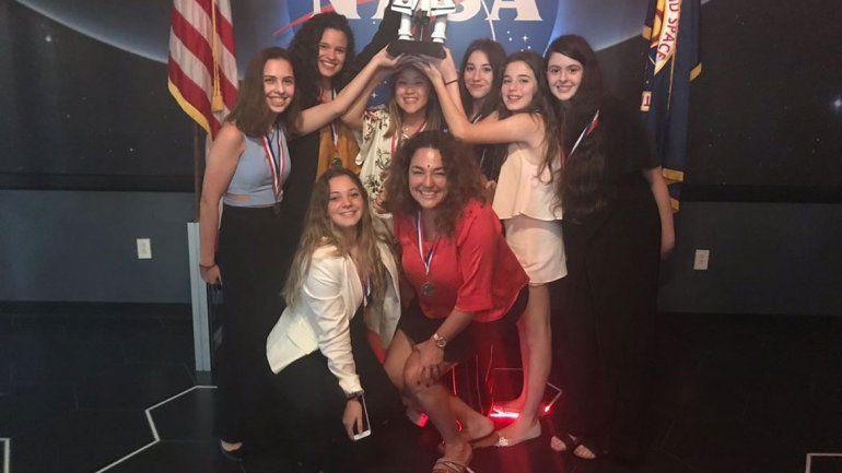 Fueron galardonadas en el mismísimo Centro Espacial Kennedy.