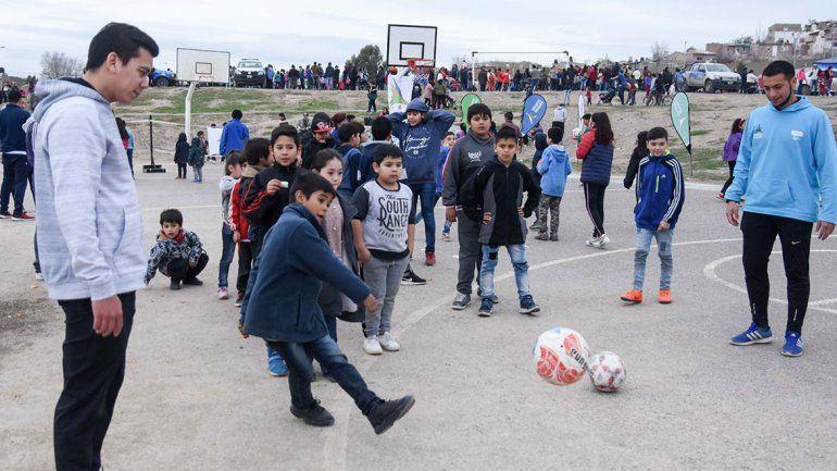 Adelantaron el Día del Niño en el CAM con arte y deportes