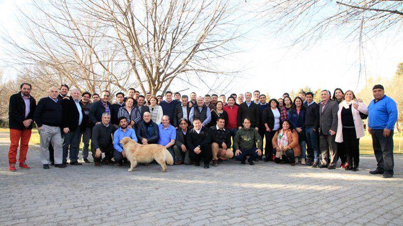 Los intendentes sumaron su apoyo a Gutiérrez 2019