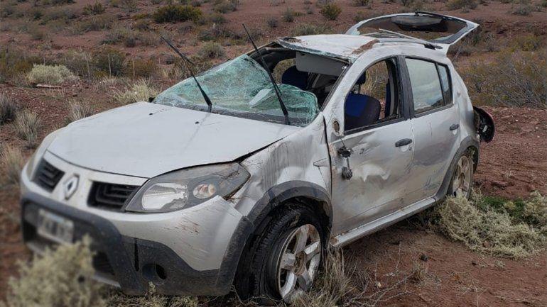 Accidente fatal: una mujer murió en un vuelco en la Ruta 237