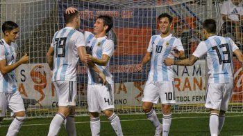 argentina se metio en la final del torneo de lalcudia