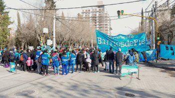 organizaciones marchan por la ley de emergencia alimentaria